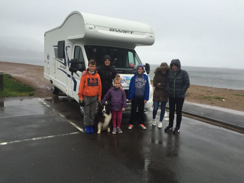 Cairns and Graham families holiday to Arran