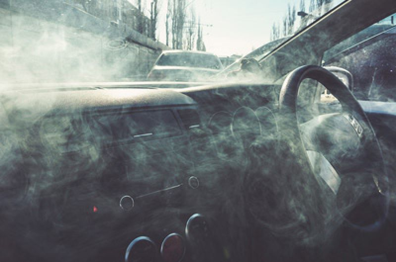 Vaping at the wheel could cost you your licence